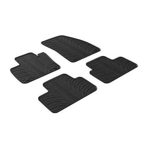 24474 - Set tappeti su misura in gomma - Volvo XC40 (10/17>) - automatico