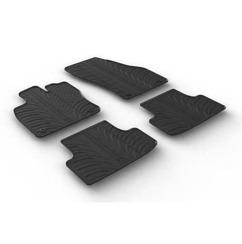 24511 - Set tappeti su misura in gomma - Seat Ateca (07/16>)