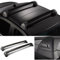 2x BARRE PORTATUTTO ALLUMINIO + KIT PER VW GOLF 7 WHISPBAR