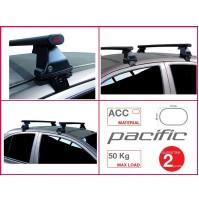 BARRE PORTATUTTO COMPLETE G3 CADILLAC CT6 DAL 2016 NO RAILING KIT IN ACCIAIO