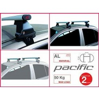 BARRE PORTATUTTO COMPLETE G3 HONDA CIVIC 5 PORTE DAL 2016 KIT IN ALLUMINIO