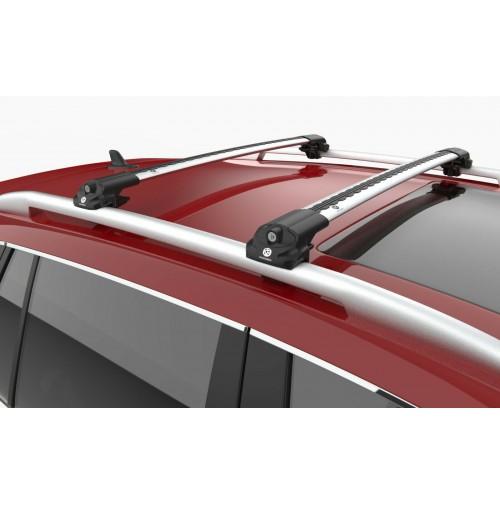 BARRE PORTATUTTO SU MISURA PER BMW X3 (2014-2017) - RAILING STANDARD - SILVER
