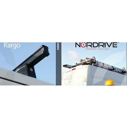 BARRE PORTATUTTO Volkswagen Transporter T6, dal 04/2015>- NORDRIVE KARGO 4 BARRE