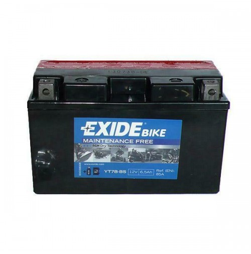 BATTERIA MOTO/SCOOTER EXIDE YT7B-BS = CT7BBS = CT7B-BS