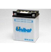 BATTERIA MOTO/SCOOTER UNIBAT/SAF MOD. CB14LA2SM -COMPATIBILE-YB14L-AL