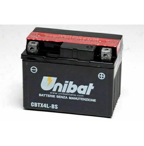BATTERIA MOTO/SCOOTER UNIBAT/SAF MOD.CBTX4L-BS -COMPATIBILE-YTX4L-BS