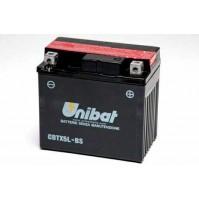 BATTERIA MOTO/SCOOTER UNIBAT/SAF MOD.CBTX5L-BS -COMPATIBILE-YTX5L-BS
