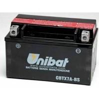 BATTERIA MOTO/SCOOTER UNIBAT/SAF MOD.CBTX7A-BS -COMPATIBILE-YTX7A-BS