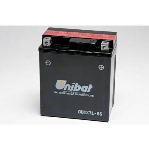 BATTERIA MOTO/SCOOTER UNIBAT/SAF MOD.CBTX7L-BS -COMPATIBILE-YTX7L-BS