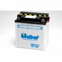 BATTERIA MOTO/SCOOTER UNIBAT/SAF MODELLO -CB10L-BP-SM -COMPATIBILE-YB10L-BP