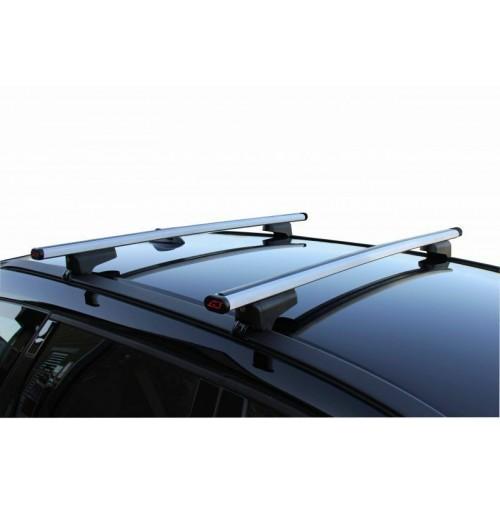 Barre portatutto DACIA DUSTER con rails dal 2014, versione in acciaio con kit.