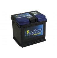 Batteria auto UNIBAT STANDARD,12V-50Ah-380A di spunto,polo + dx-mis,207x175x190m