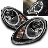 FARI FANALI ANTERIORI con LED Ottica luci diurne Porsche Boxster/Cayman (987)