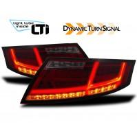 Fanali posteriori LTI con indicatori dinamica per Audi TT (8J)