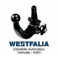 Gancio traino WESTFALIA JEEP CHEROKEE DAL 2014 TRAILHAWK  KIT ESTRAIBILE A40V