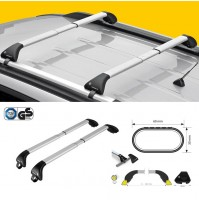KIT 2x BARRE PORTATUTTO IN ALLUMINIO TELESCOPICHE PER CHEVROLET CRUZE SW '12-'15