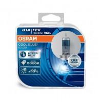 LAMPADE H4 OSRAM COOL BLUE BOOST + 5000K,ESTREMAMENTE BIANCO EFFETTO XENON +50%