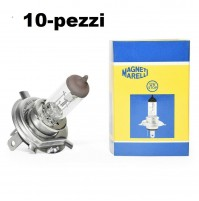 MAGNETI MARELLI Lampadina STANDARD H4,12V- 60/55W Line Standard KIT 10 PEZZI
