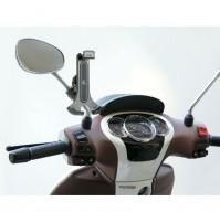 Porta telefono universale per scooter Smart Scooter Flow,fissaggio a tubi 9-14mm