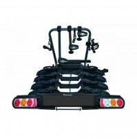 Portabici gancio traino 4 bici inclinabile Peruzzo Pure Instinct portabiciclette