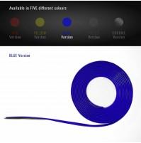 Profilo Adesivo per Auto-Moto-Bici con Biadesivo 3M msura 250x11mm,colore BLU
