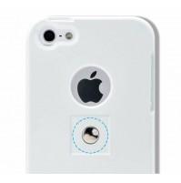 TETRAX, XCASE iPhone 5/5S bianco /white , custodia con magnete integrato