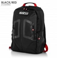 Zaino con schienale ergonomico Sparco serie STAGE, 15 litri,impermeabile rosso